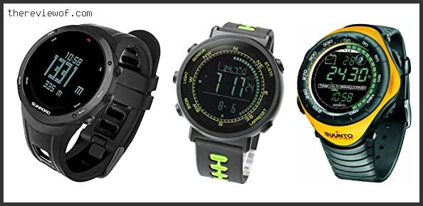 Watch With Altimeter And Compass